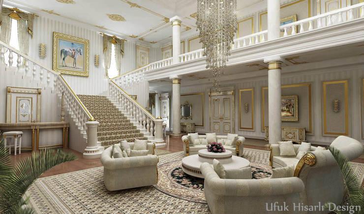 HİSARİ DESIGN STUDIO – Residance VIP:  tarz Oturma Odası