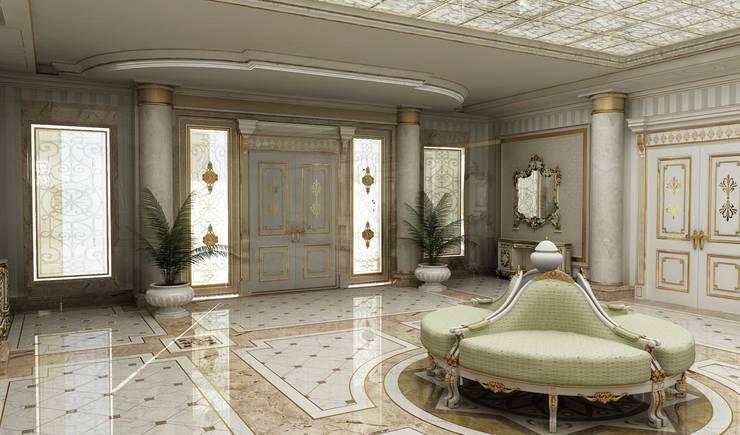 HİSARİ DESIGN STUDIO – Residance VIP:  tarz Koridor ve Hol