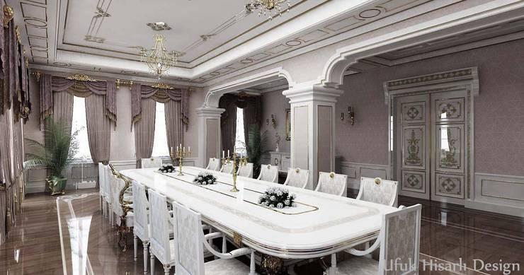 HİSARİ DESIGN STUDIO – Residance VIP:  tarz Yemek Odası