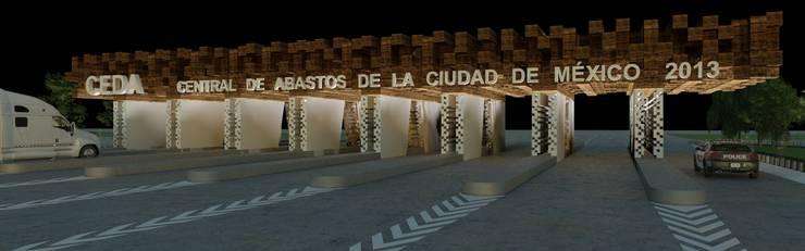 [ DGS ] CENTRAL DE ABASTO: Centros Comerciales de estilo  por DGS ARQUITECTOS,  S. A. DE  C. V.