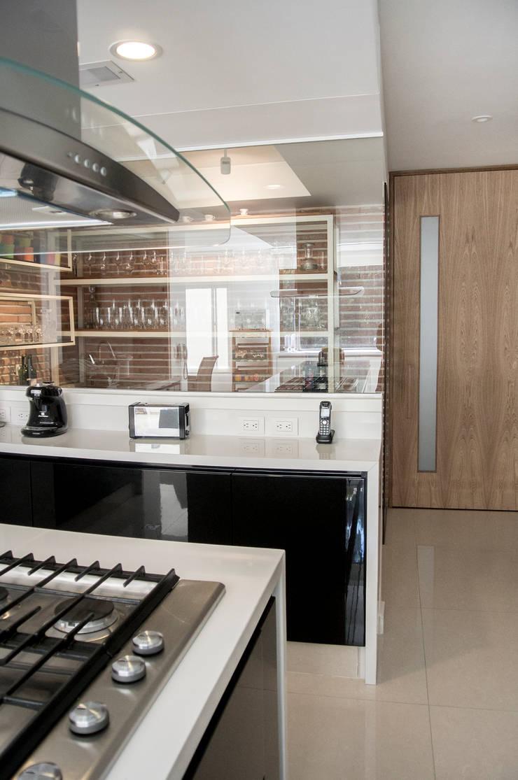 Kitchen by KDF Arquitectura, Modern