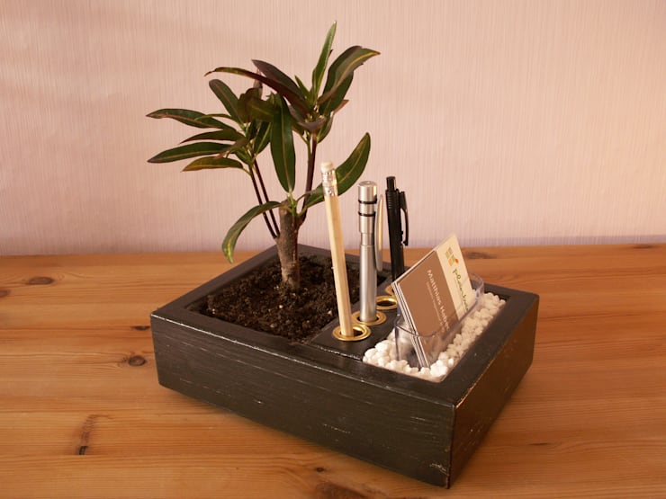 eclectic Study/office by planbar! Garten. Wohnraum. Umwelt.