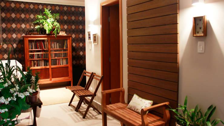 Residencial Paraíso: Escritórios  por Rentes Arquitetura e Interiores