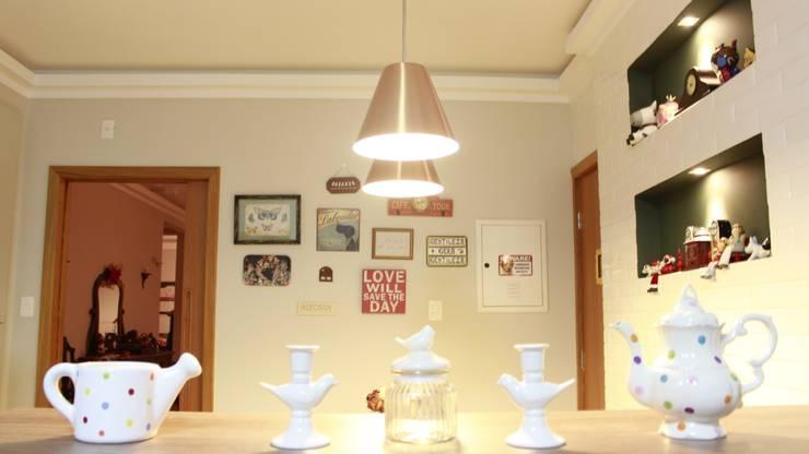 Residencial Paraíso: Cozinhas  por Rentes Arquitetura e Interiores