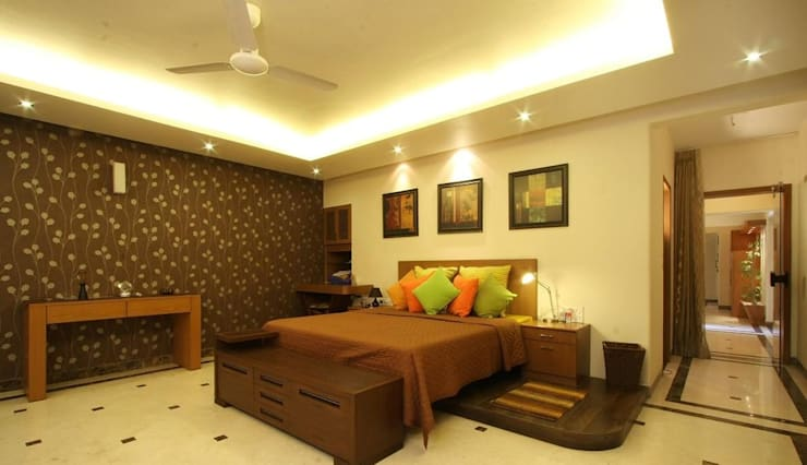 My Projects: modern Bedroom by lifestyle Interio