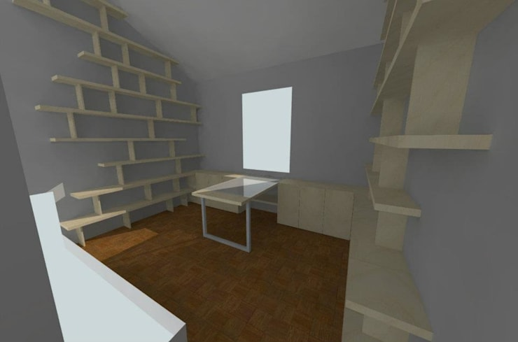 Study/office by Pau - Into the wood
