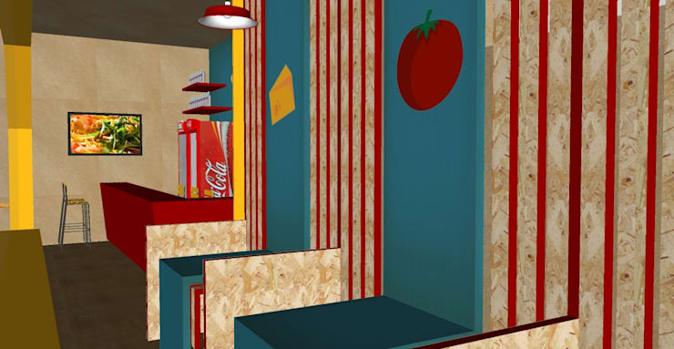ร้านอาหาร โดย iS arquitetura,