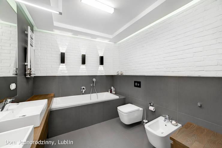 dom ul.Goplan Lublin: styl , w kategorii  zaprojektowany przez Auraprojekt