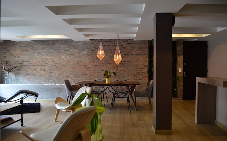 Dining room by santiago dussan architecture & Interior design