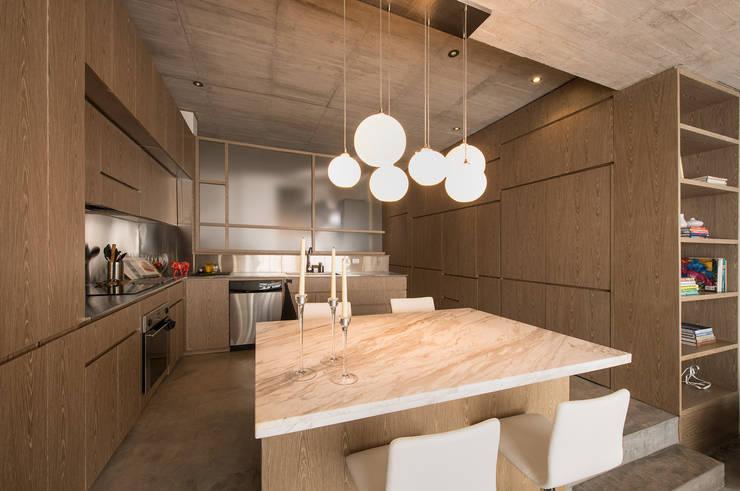 Küche von MEMA Arquitectos