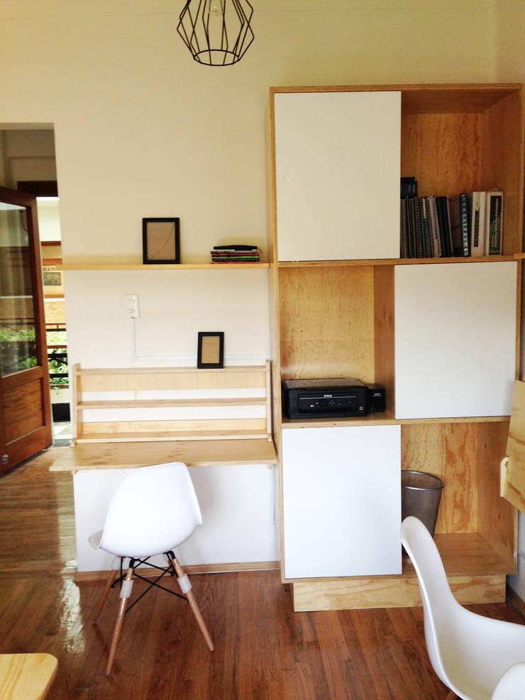 OFICINA 6: Oficinas y tiendas de estilo  por Clorofilia