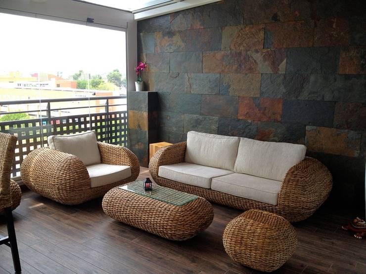 Terrazas de estilo  por Juanjo Álvarez