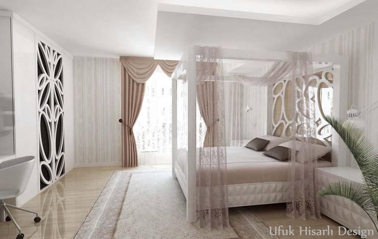 غرفة نوم تنفيذ HİSARİ DESIGN STUDIO