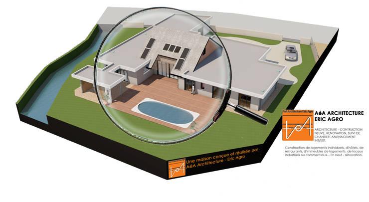 L'architecture c'est pour tous! : Maisons de style de style Moderne par AeA - Architecture Eric Agro