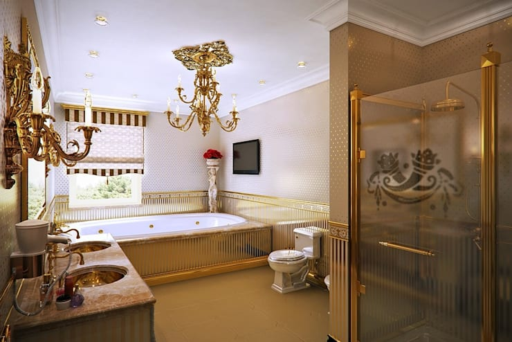 Bathroom by Design studio of Stanislav Orekhov. ARCHITECTURE / INTERIOR DESIGN / VISUALIZATION.