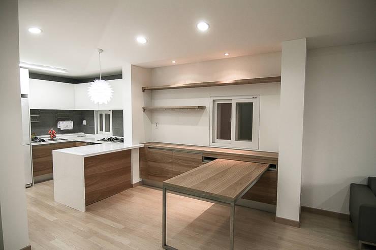 Salas de jantar minimalistas por METAPHOR