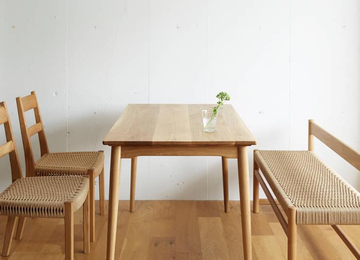 作品: 木の工房iwakaguが手掛けたキッチンです。