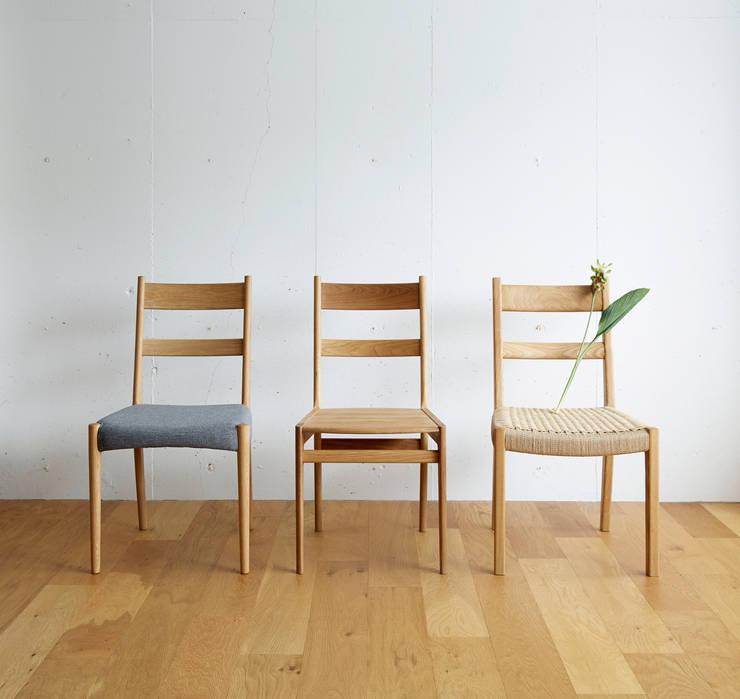 作品: 木の工房iwakaguが手掛けたダイニングルームです。