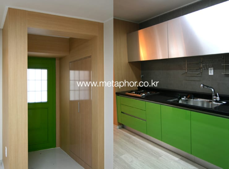 Cozinhas minimalistas por METAPHOR