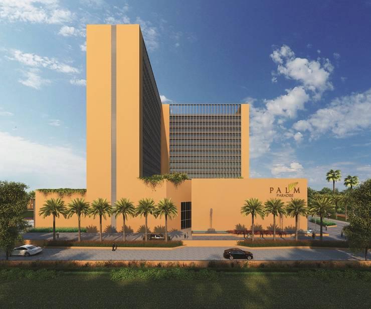 Palm Paradise:  Houses by AAYAM Architects
