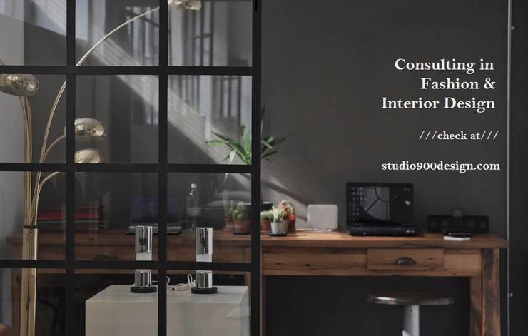 STUDIO 900 DESIGN – Massello Table:  tarz Ofisler ve Mağazalar