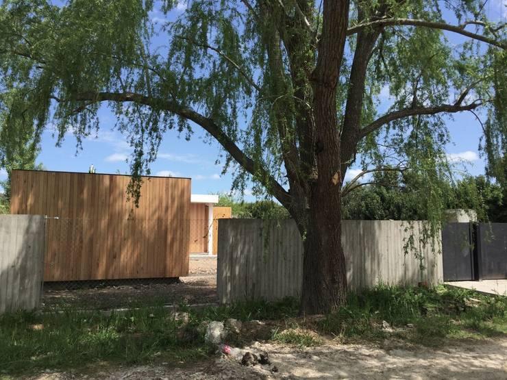 Casa JO: Casas de estilo  por Felipe Gonzalez Arzac ,