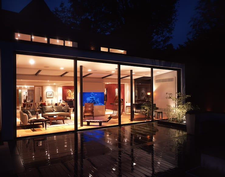 Terraços  por KSR Architects