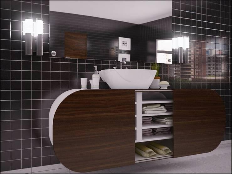 Nipon line: Casa de banho  por Joana Magalhães Francisco