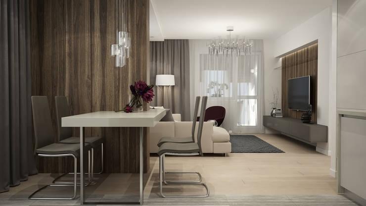 Salas de estilo minimalista de GK DESIGN Minimalista