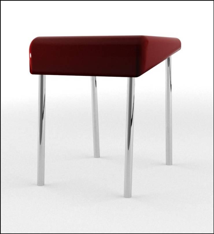 Inadapted chair : Sala de estar  por Joana Magalhães Francisco