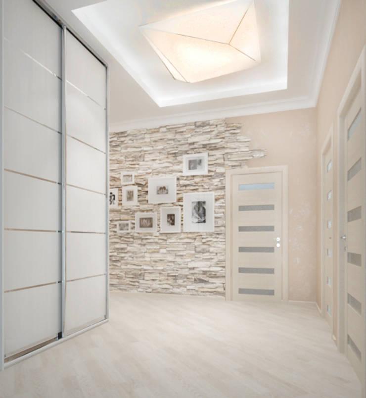 Белый интерьер Коридор, прихожая и лестница в классическом стиле от Tatiana Zaitseva Design Studio Классический