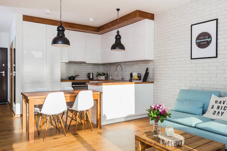 Kitchen by Kameleon - Kreatywne Studio Projektowania Wnętrz