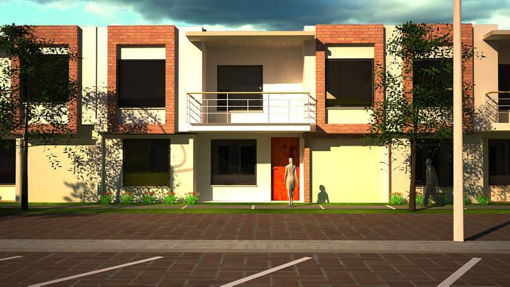 Urbanización San Miguel: Casas de estilo  por Santiago Zuluaga Arroyave
