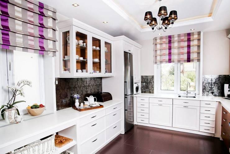 Cocinas de estilo  por Viva Design - projektowanie wnętrz