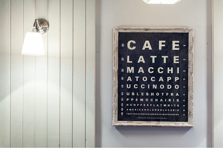Eclectic style gastronomy by Viva Design - projektowanie wnętrz Eclectic Wood Wood effect