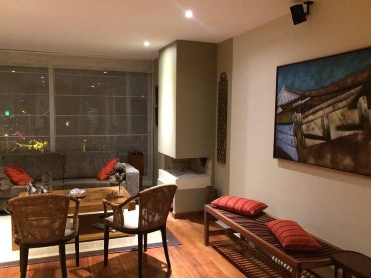 proyecto: Salas de estilo clásico por ISLA Proyectos