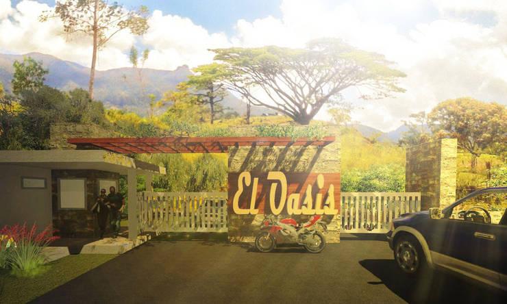 el Oasis:  de estilo  por John J. Rivera Arquitecto