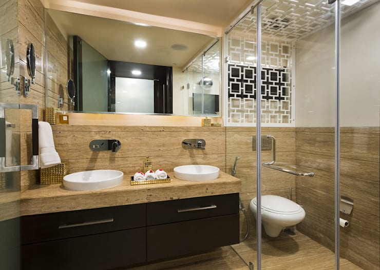 Bathroom by Spaces and Design
