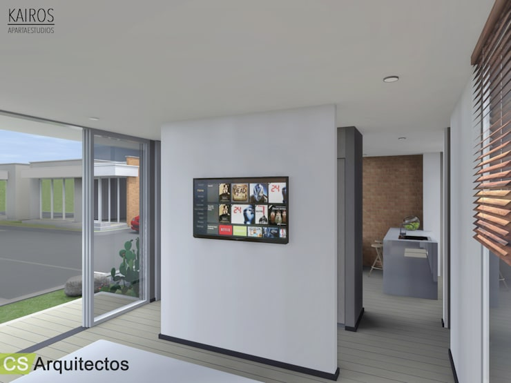 Bedroom by CS Arquitectos, Minimalist
