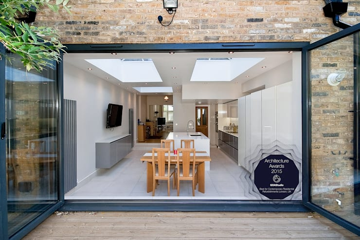 Putney, Wandsworth SW6 London | Kitchen house extension:  Houses by GOAStudio | London residential architecture