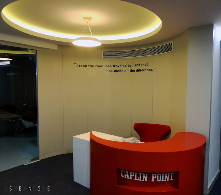 Caplin point laboratories office:  Offices & stores by Space Sense