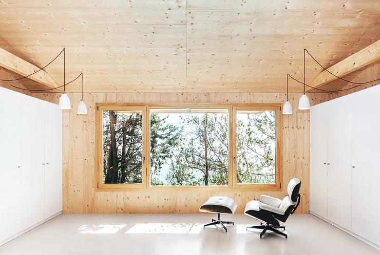 Гостиная в . Автор – dom arquitectura