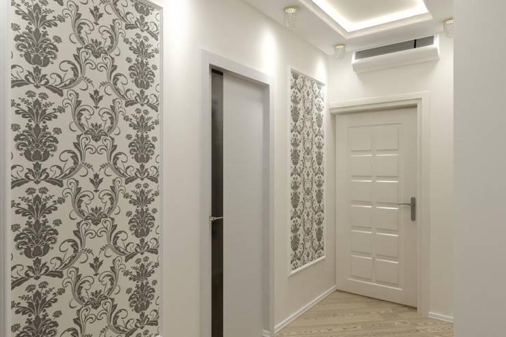 Дизайн коридора (входная зона): Коридор и прихожая в . Автор – Дизайн студия 'Exmod' Павел Цунев