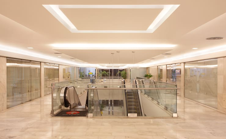 Galeria Central Ipanema: Shopping Centers  por DG Arquitetura + Design