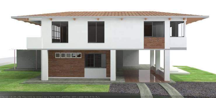 Casa Cristo Rey: Casas de estilo  por Santiago Zuluaga Arroyave,