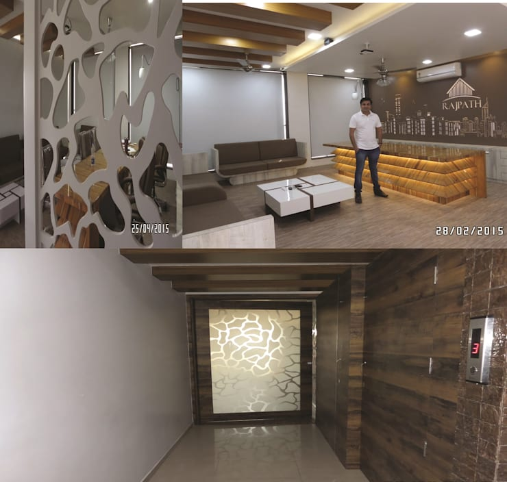 Office Interior:  Office spaces & stores  by JNS Design