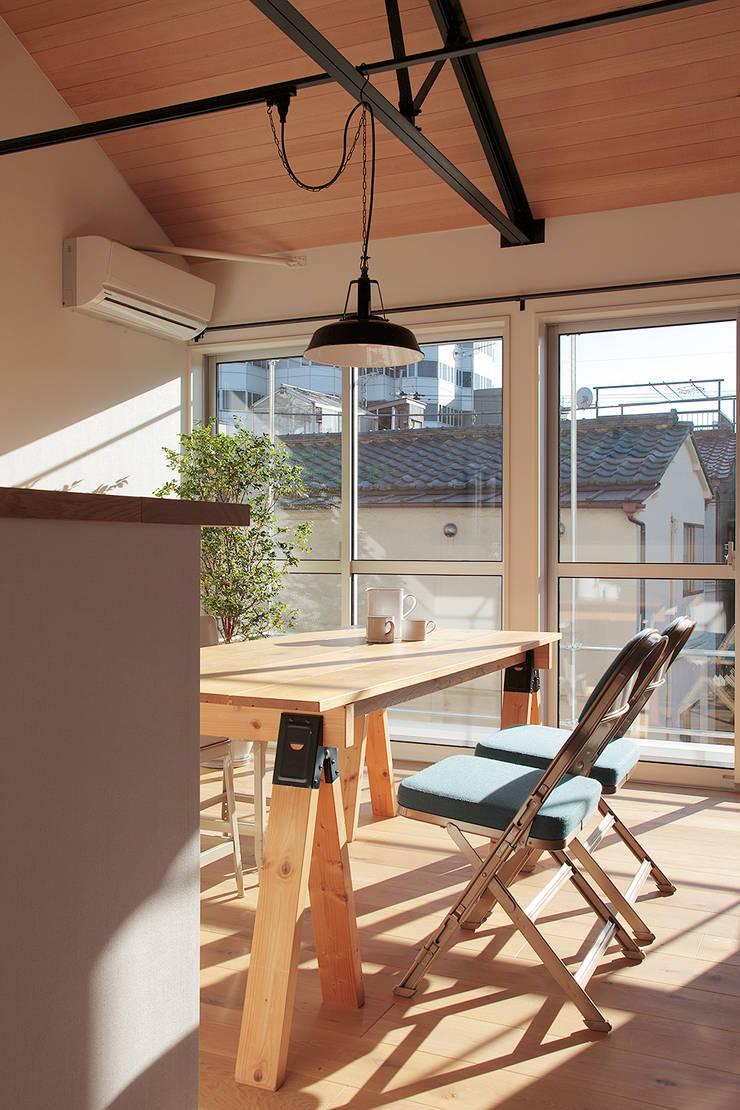 9坪ハウス: こぢこぢ一級建築士事務所が手掛けたです。,