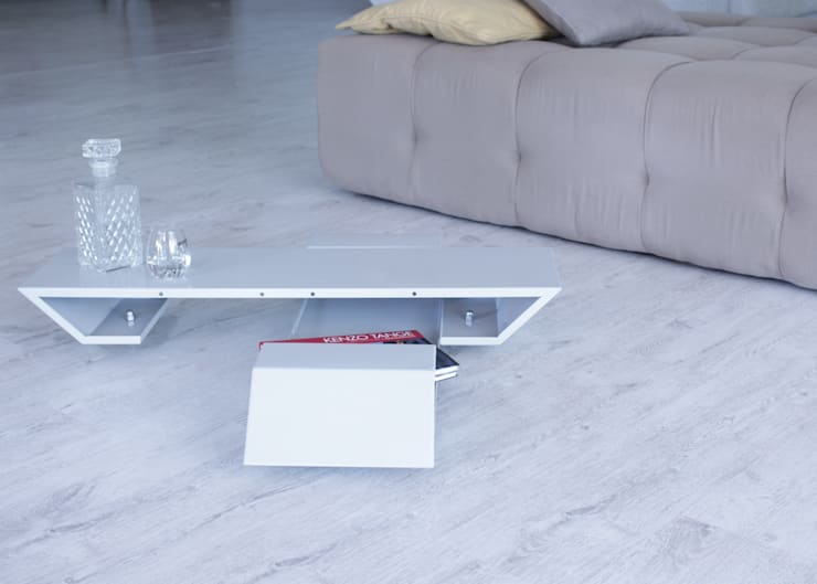 Tavolino F.L.: Soggiorno in stile  di Diff