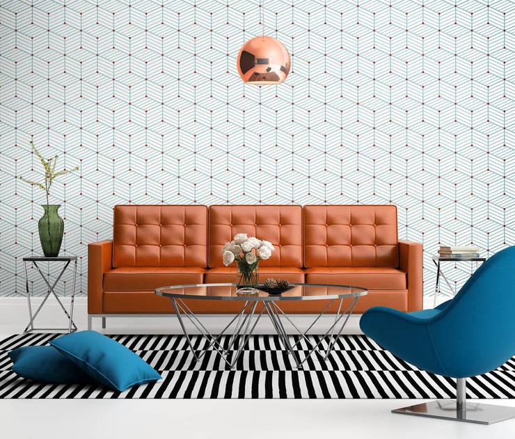 Salas de estilo  por Tapeterie