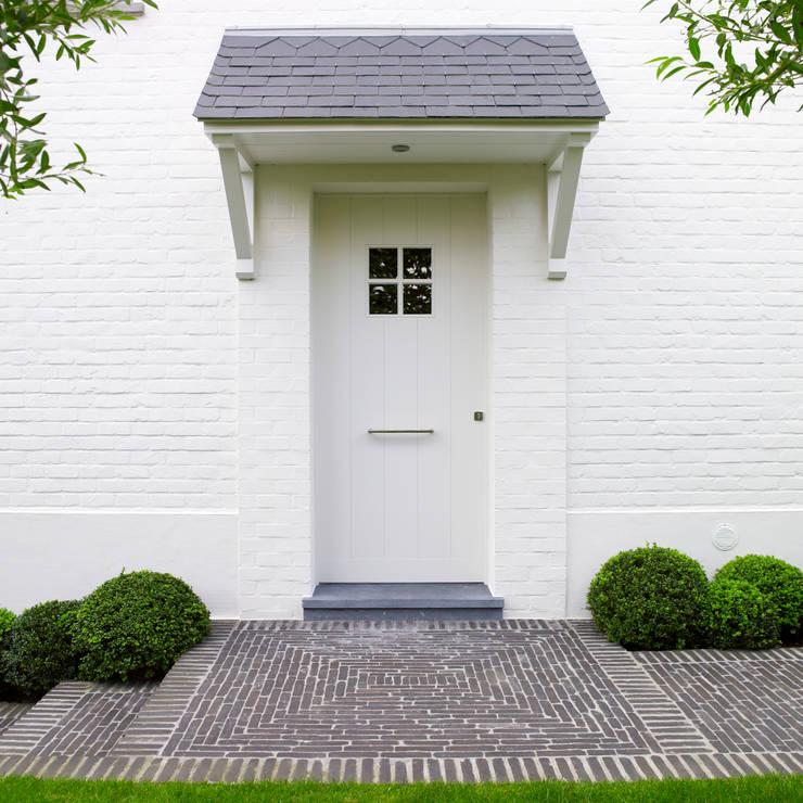 Pure PPH-350 outside doorpull in White bronze (WB):  Huizen door Dauby, Landelijk